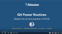 Git Power Routines: Master the art and practice of DVCS (full playlist)